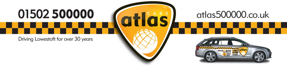 Atlas Taxis Lowestoft - 01502 500000